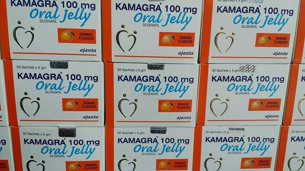 Box of 50 kamagra jellies